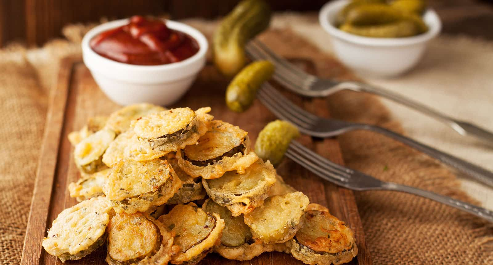 Fried Pickles Ketchup