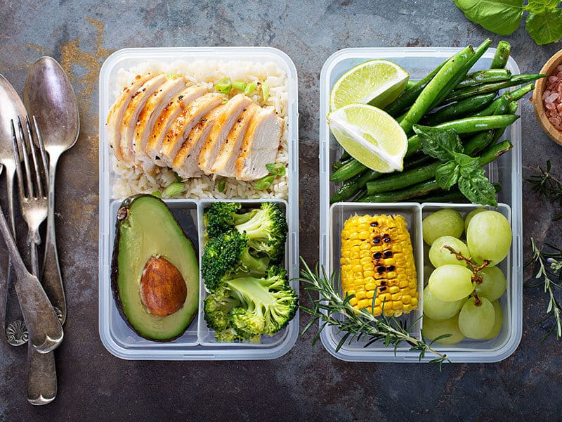 Healthy Green Meal Prep