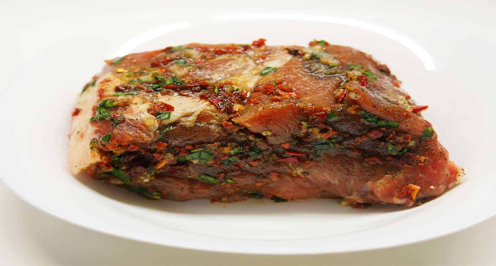 Spiced Meat Paprika Rosemary