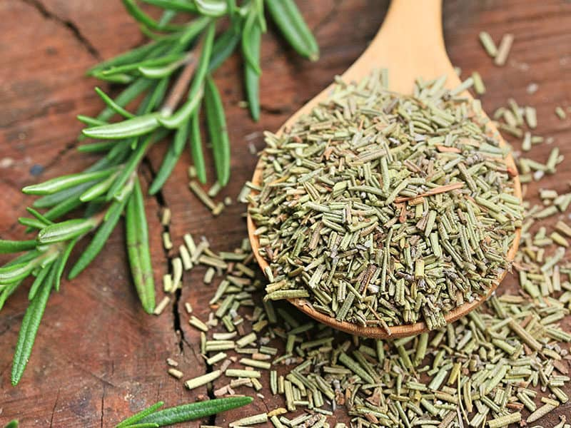 Spoon of Dried Rosemary